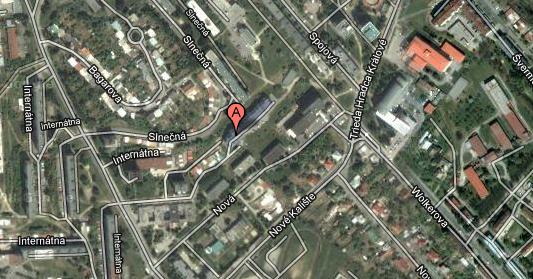 nájdete nás na ulici Nová 21 v Banskej Bystrici